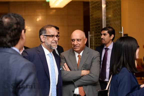 Ambassador of India to UAE Navdeep Singh Suri /Mr. Ramesh Bawa